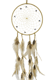 "6"" Semi-Precious Dream Catcher"