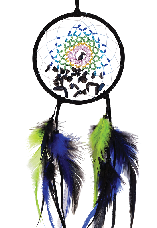 "4"" Energy Flow Dream Catcher - Blue Goldstone"