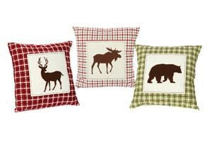 Cotton Icon Patch Pillow (Assorted)