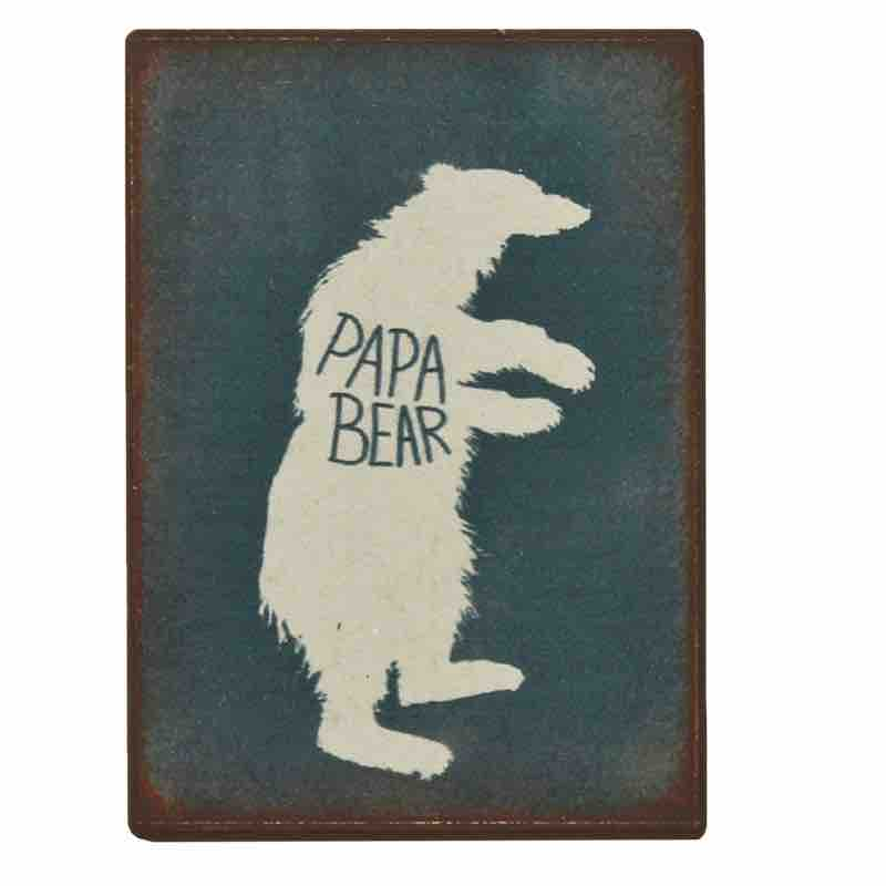 Fridge Magnet - Papa Bear