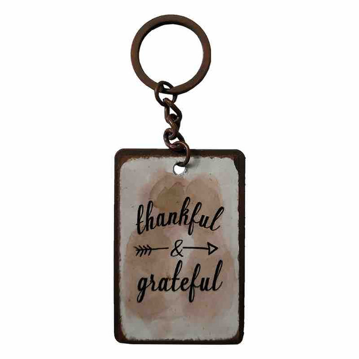 Keychain - Thankful Grateful