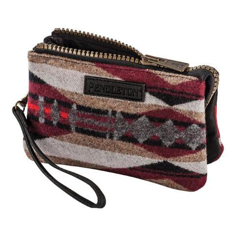 La Paz Three Pocket Keeper - Scarlet