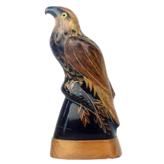 "Buffalo Horn Carving 6"" - Eagle"