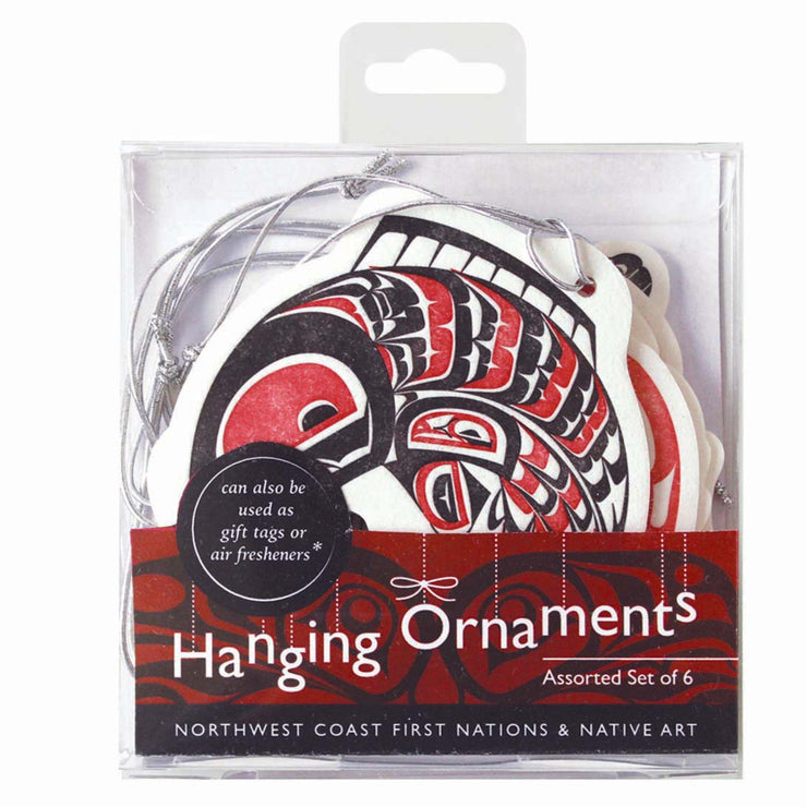 Hanging Ornaments - Assorted set of 6