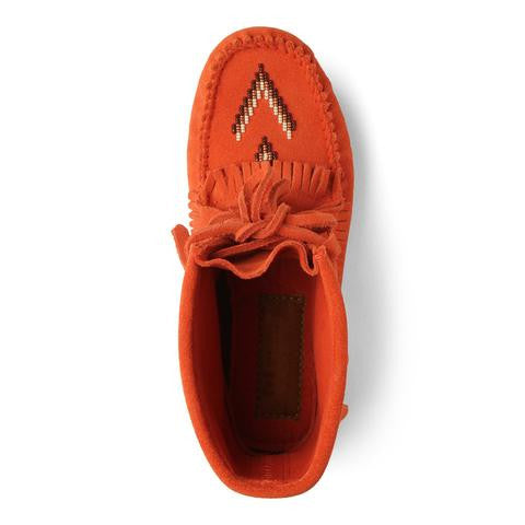 Harvester Suede Moccasin (Salmon)