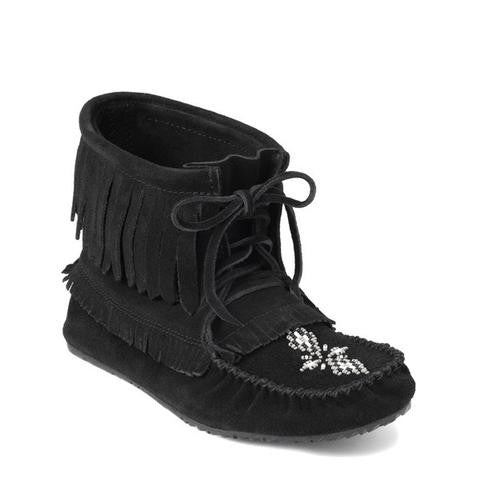 Harvester Suede Moccasin (Black)