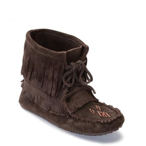 Harvester Suede Moccasin (Chocolate)