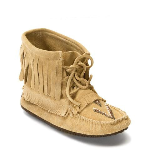 Harvester Suede Moccasin (Tan)