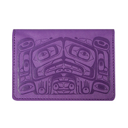 Card Wallet - Raven Box (Purple)