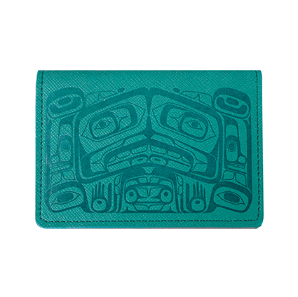 Card Wallet - Raven Box (Teal)