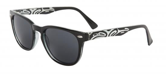 Unisex Kennedy Eagle Sunglasses (Black)