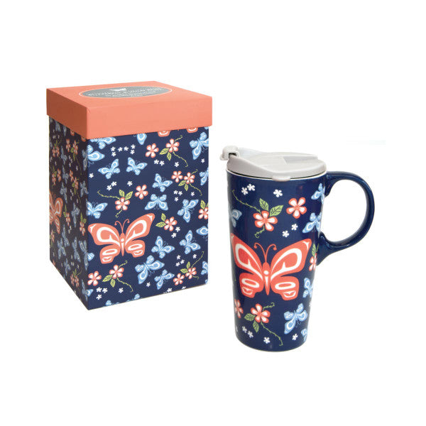 Perfect Mug - Butterfly & Wild Rose