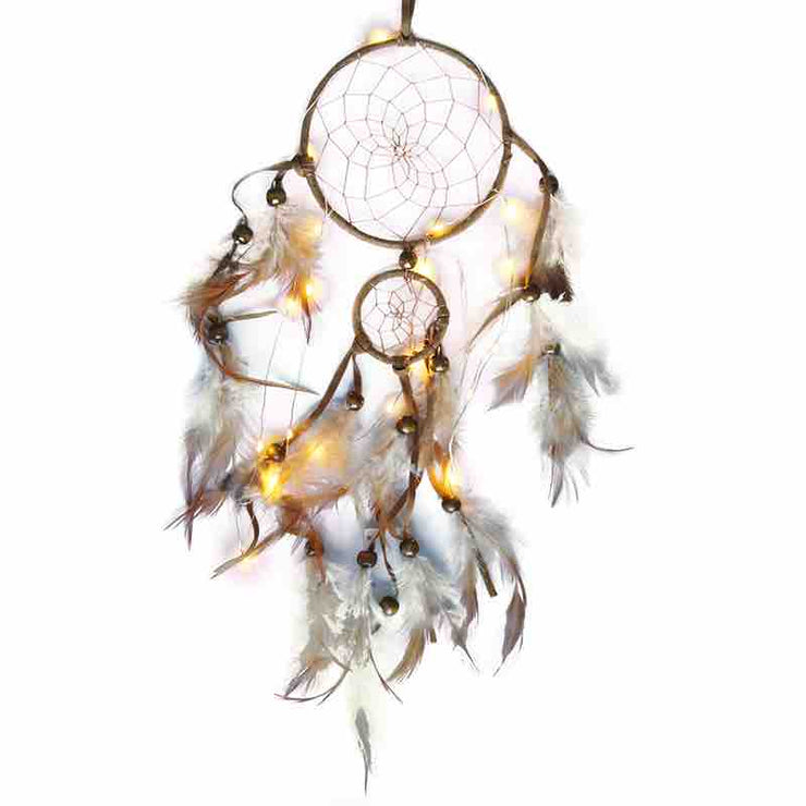 LED Dream Catcher (2 rings) 15 inch