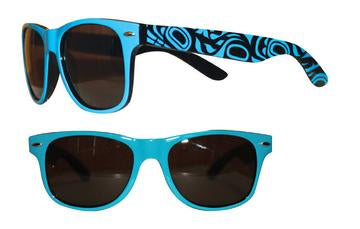 Adult Sunglasses - Whale (Glossy Frames)