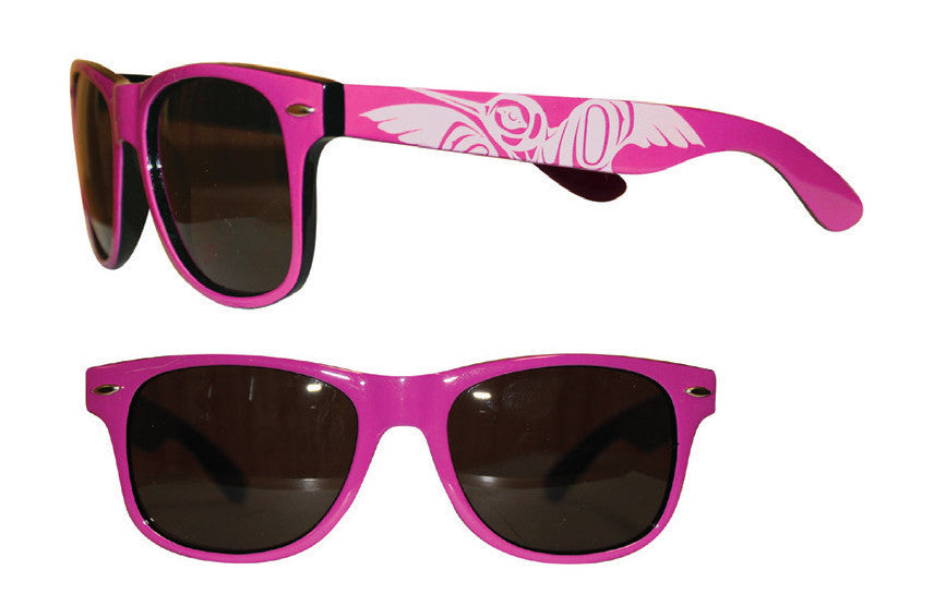 Adult Sunglasses - Hummingbird (Glossy Frames)