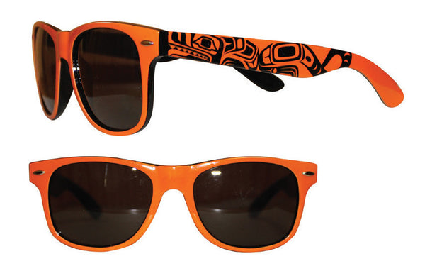 Adult Sunglasses - Wolf (Glossy Frames)