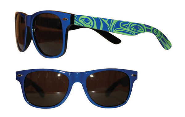 Adult Sunglasses - Eagle & Whale (Glossy Frames)