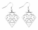 'Malta' Earrings (Silver)