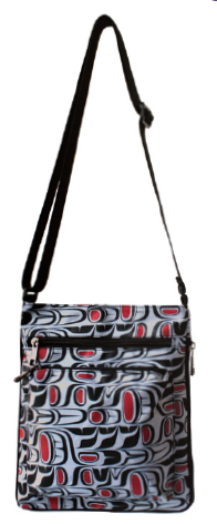 Crossbody Bag - Pacific Formline (Black/Grey)