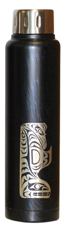 Totem Insulated Bottle - Thunderbird and Whale (15 oz)