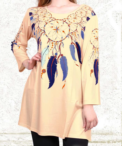 Mystic Feathers Top