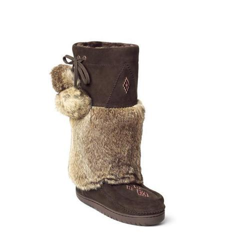 *Discontinued* Snowy Owl Mukluk (Chocolate)