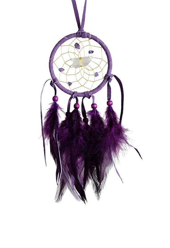 "2.5"" Vision Seeker Dream Catcher - Purple"