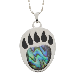 Abalone Paw Necklace