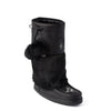Snowy Owl Waterproof Grain Mukluk (Black)
