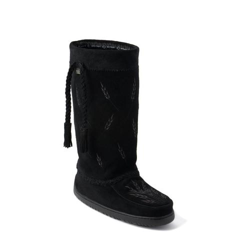 Tamarack Waterproof Suede Mukluk (Black)