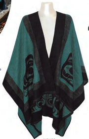 Fashion Wrap - Sea Wolf by Fraser Williams (Teal)