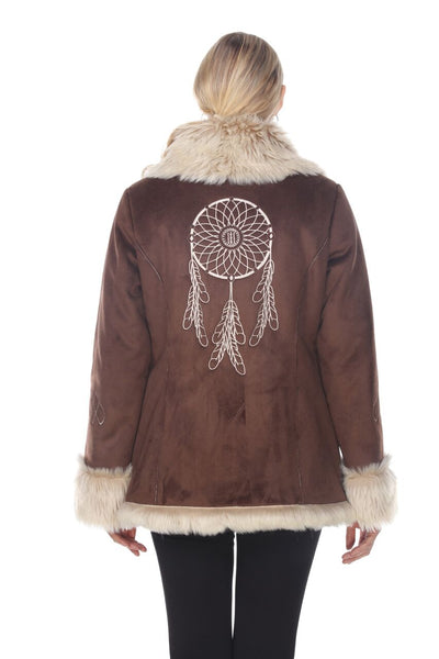 Brown Dream Catcher Jacket