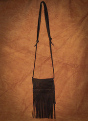 Fringe Purse (Black)