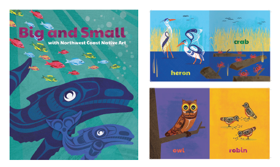 Board Book - Big and Small