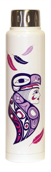 Totem Insulated Bottle - Eagle Woman (15 oz)
