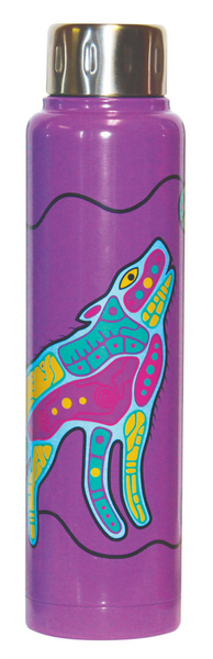 Totem Insulated Bottle - Howling Wolf (15 oz)