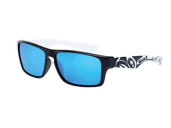 Brent Men's Sunglasses Eagle (Black/White)