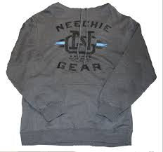 Mens Neechie Gear Hoodie - Built (Charcoal Heather)