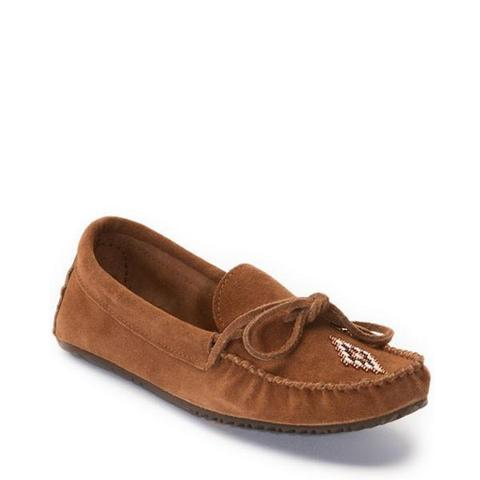 Canoe Suede Moccasin (Copper)