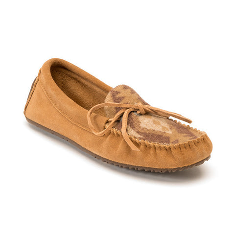 *Discontinued* Canoe Suede Wool Moccasin (Oak)
