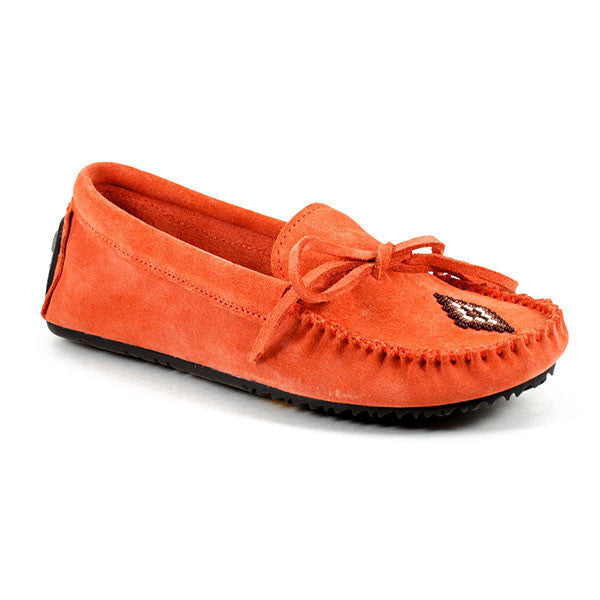 *Discontinued* Canoe Suede Moccasin (Salmon)