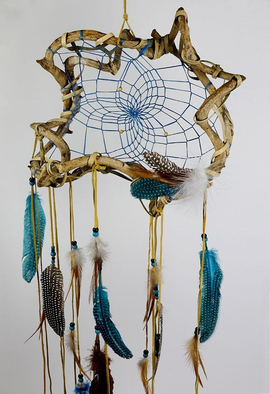 "12"" Turquoise Medium Wanderer Dream Catcher"