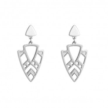 'Fellini' Earrings (Silver)