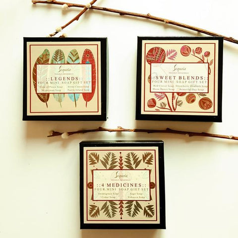 Legends Four Soap Gift Set (Mini Bars)