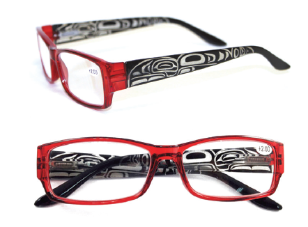 Reading Glasses - Raven