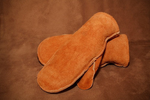 Moose Hide Mitt (No Cuff)