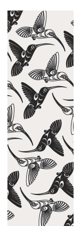Bookmark - Hummingbirds