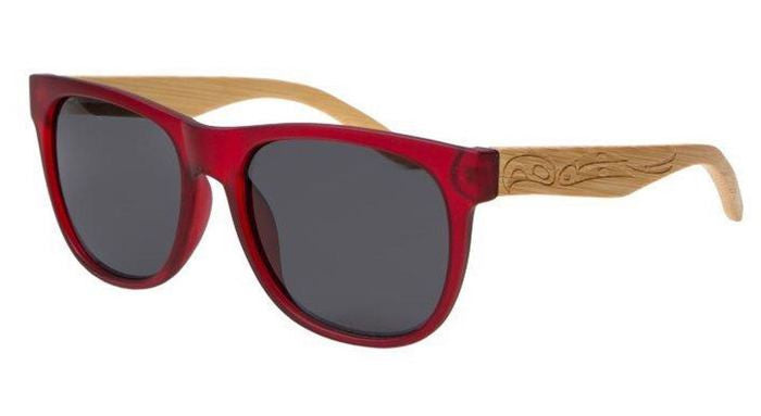 Unisex Hunter Eagle Polarized Sunglasses (Matte Red)