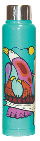 Totem Insulated Bottle - Eagle Family (15 oz)