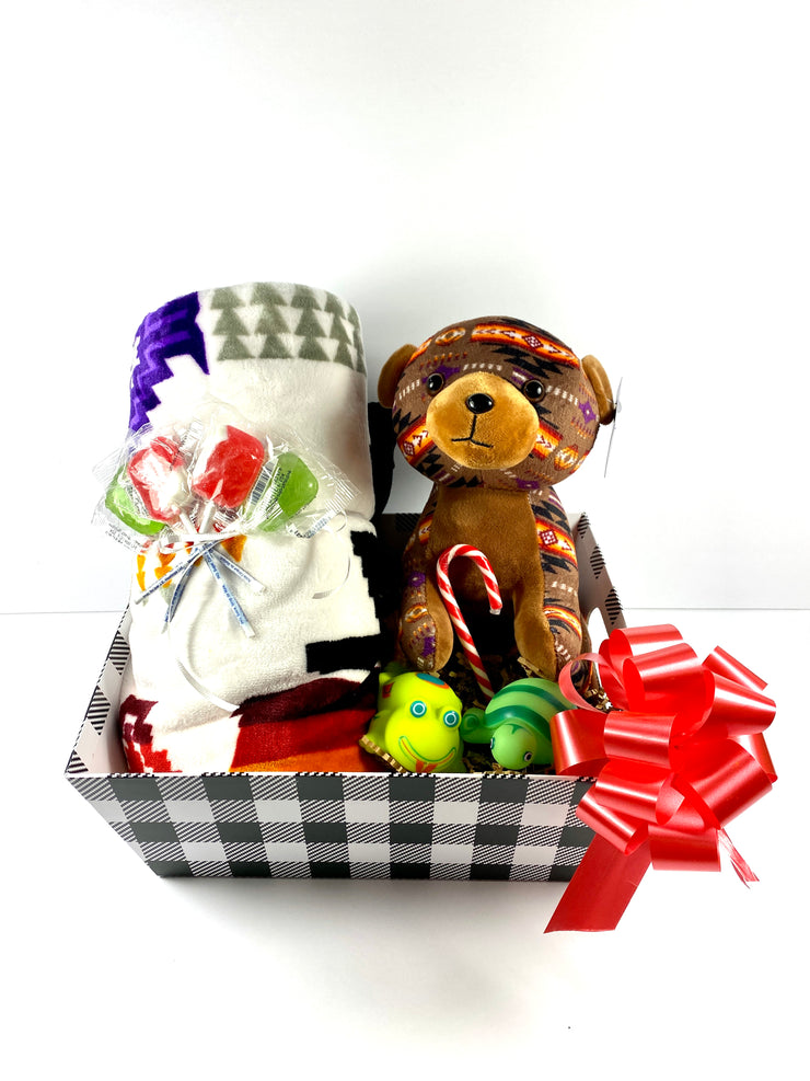 Christmas Gift Basket for Kids